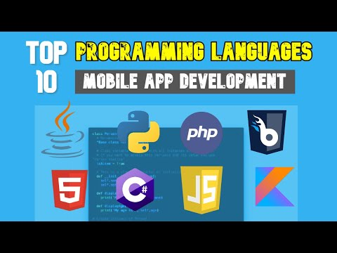 Top 10 Best Programming Languages for Mobile Application Development