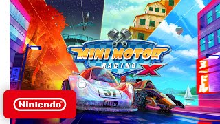 Mini Motor Racing X - Launch Trailer - Nintendo Switch