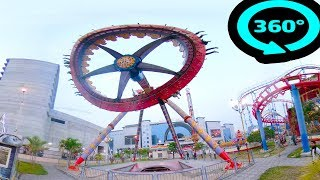 Amusement Ride VR BOX 360 4K | 360° VR VIDEO Virtual Reality | Top Scariest Attraction Future Park