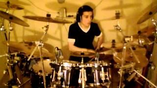 Angelo Branduardi- La strega (drumcover by Mikele Alba)