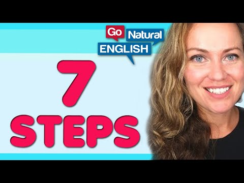 7 Steps to English Fluency