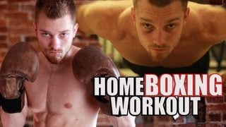 Home Boxing Workout Routine by fightTIPS