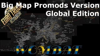 ETS2 1.33 - Big Map Promods 2.32 Version - Global Edition