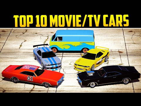 TOP 10 MOVIE/TV INSPIRED CARS IN GTA ONLINE