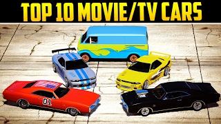 TOP 10 MOVIE/TV INSPIRED CARS IN GTA ONLINE