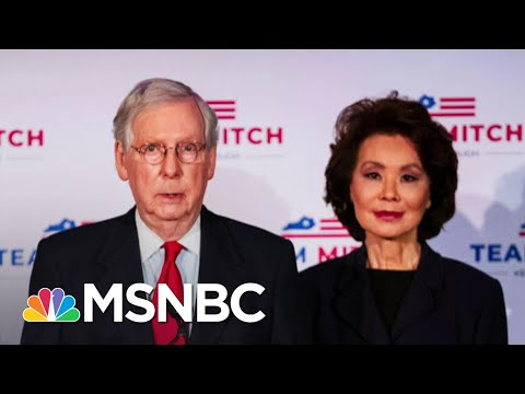 Ethics Probe Made Criminal Referral For Elain Chao; Not Unique Among Trump Cabinet | Rachel Maddow