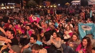 Президент Каталонии объявил результаты референдума. Каталонцы поют гимн и плачут | Страна.ua
