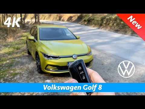 Volkswagen Golf 8 Style 2020 - FIRST FULL in-depth review in 4K | Interior - Exterior Day - Night