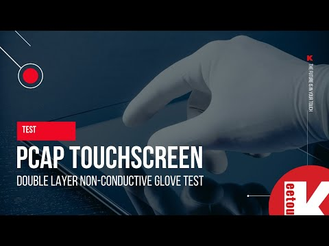 TEST: Can PCAP Touchscreen work with both nitrile and latex gloves?