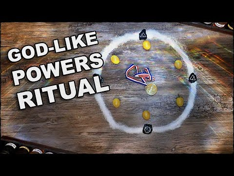 God-Like Powers Ritual