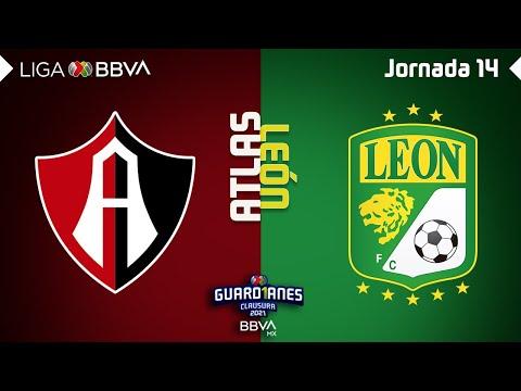 Resumen y Goles | Atlas vs León | Liga MX – Guard1anes 2021 – Jornada 14 | LIGA BBVA MX