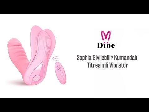 Db Sophia Giyilebilir Kumandalı Titreşimli Vibratör