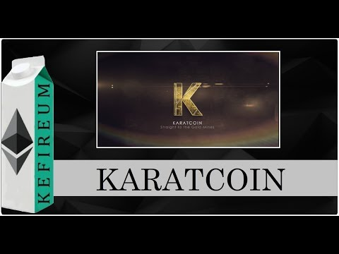 Karatcoin - проект, покоривший кризис