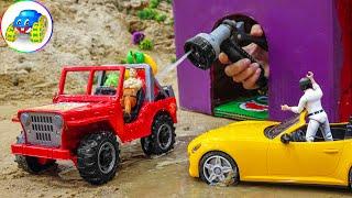 Police Car Fire Engine Ambulance Car Toy - Kid Studio