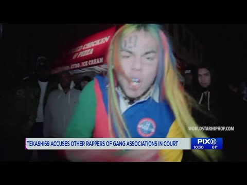 Tekashi 6ix9ine claims Cardi B, other rappers are Bloods members in third day of testimony