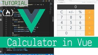 Build a Calculator with Vue.js