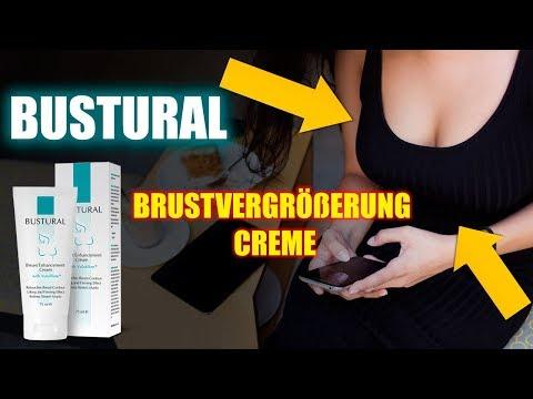 Bustural Brustvergrößerung Creme | Überprüfung der Creme Bustural