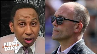'Just stop it!' - Stephen A. rips Ravens GM Eric DeCosta for his comments   First Take
