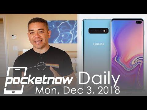 Galaxy S10 CAD renders, Sony foldable smartphone & more – Pocketnow Daily