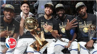Relive the Golden State Warriors' magical 5-year title run | NBA Highlights