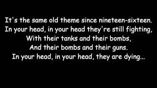 The Cranberries - Zombie (lyrics)