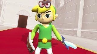 Link (Zelda Costume) In Super Mario Odyssey - Final Boss & Ending