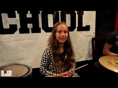 Урок по барабани със Стоил Иванов и Рая Цветкова