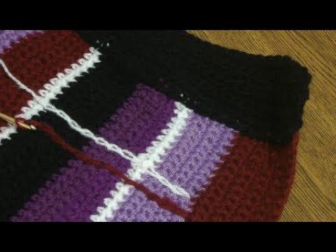 Как сделать из юбки в полоску юбку шотландку