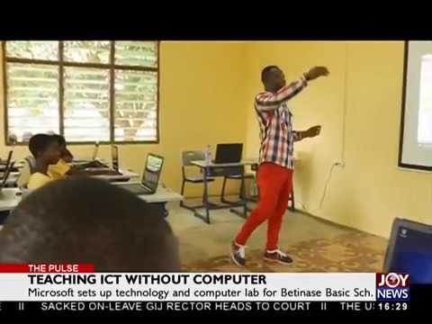 Teaching ICT without Computer - The Pulse on JoyNews (29-3-18)