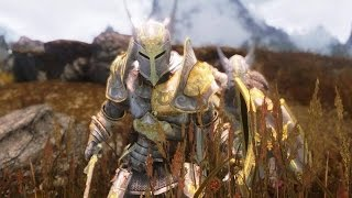 Skyrim.Мод на броню паладинов Девяти Божеств