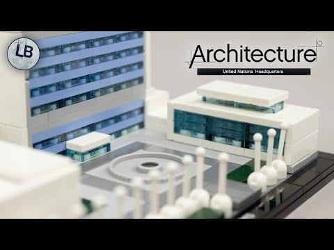 Vidéo LEGO Architecture 21018 : Le Siège des Nations Unies (New York, Etats-Unis)