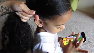 MY HAIR CARE ROUTINE! Mixed Curly Hair! Art And Soul Festival! Vlog #185