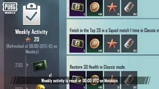 PUBG MOBILE - New Missions in RP17