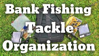 Bank Fishing Tackle Organization
