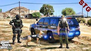 CHEVY TAHOE | K9 SHERIFF PATROL!!!| #126 (GTA 5 REAL LIFE PC POLICE MOD)