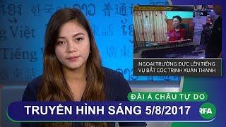 Thời sự 5/8/2017 | Vụ bắt Trịnh Xuân Thanh làm người Đức nghĩ đến phim thời Chiến tranh lạnh