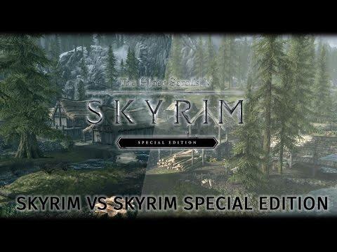 Skyrim vs Skyrim Special Edition [Ultra] - Сравнение графики