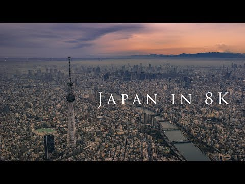 Capturing Gorgeous Images of Japan in 8K