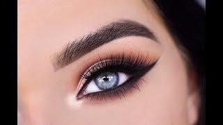 GLAM Eyeshadow Tutorial | ABH Soft Glam + Norvina Palette