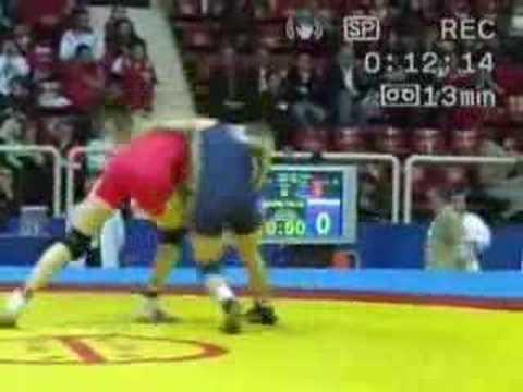 48kg FW MATTSSON Sofia SWE - OORDJAK Larisa RUS