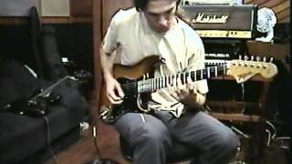 KIKO LOUREIRO: Temple of Shadows guitar recording session