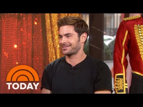 Zac Efron Talks About New Movie 'The Greatest Showman' And Runs Into Ed Sheeran! | TODAY