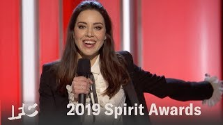 Aubrey Plazas Opening Monologue  | 2019 Spirit Awards