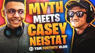 TSM MYTH MEETS CASEY NEISTAT! | Fortnite Vlog