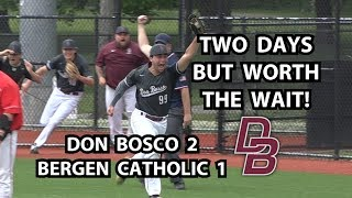 Don Bosco 2 Bergen Catholic 1 Baseball | North Non-Public A Semifinal