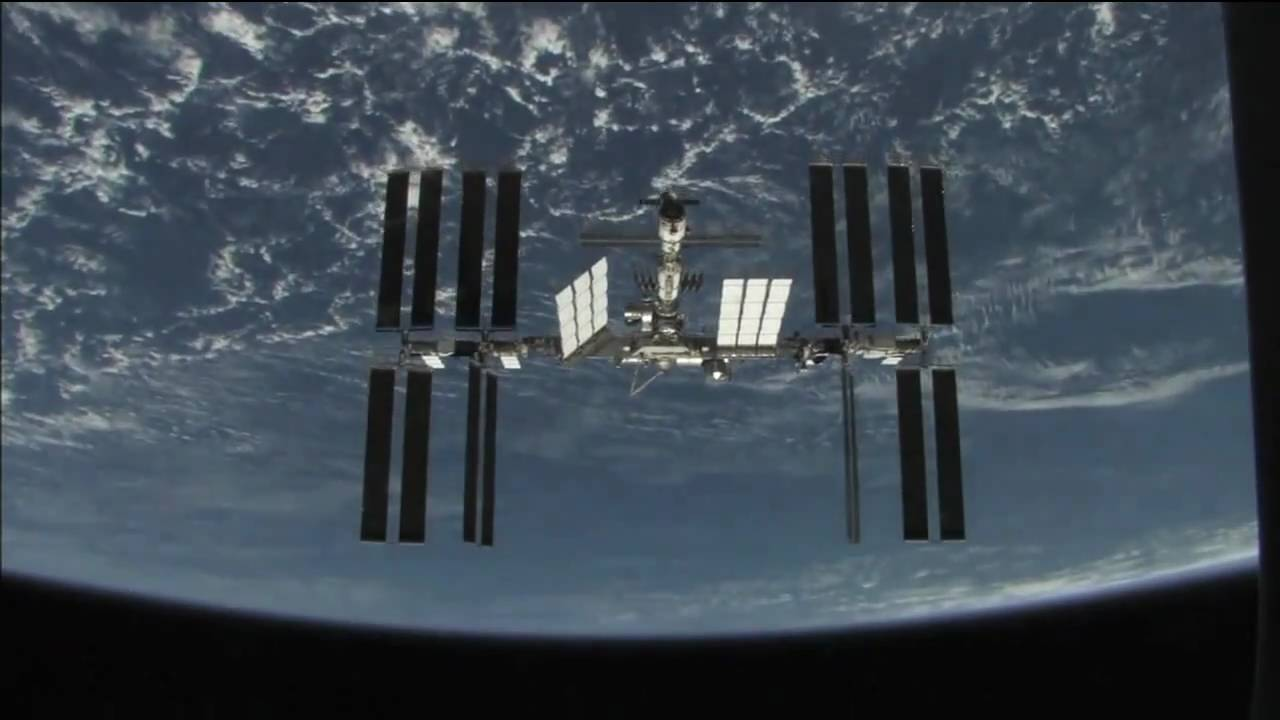 Video: Watch The International Space Station Floating In Space