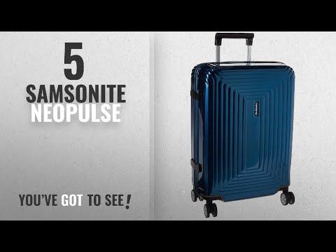 Top 10 Samsonite Neopulse [2018]: Samsonite Neopulse Hardside Spinner 55/20, Metallic Blue