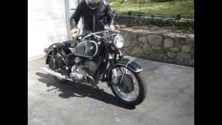 Estate 1966 BMW R69S cold start