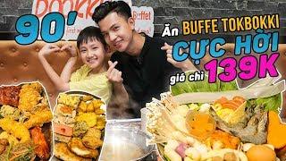 Thử Ngay Buffet Tokbokki Tại Dookki Khiến Dân Tình Xếp Hàng Dài Để Ăn   Hivo & Tom