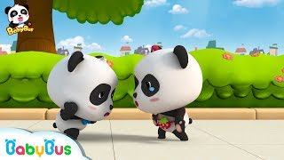 Baby Panda Lost Miumiu's Thing |  Baby Panda Collects Waste | Magical Chinese Characters | BabyBus